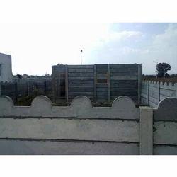 RCC Folding Boundary Walls