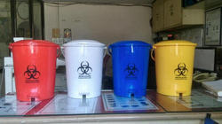 Biomedical Waste Bins Colour Coded Waste Bins For Biomedical And