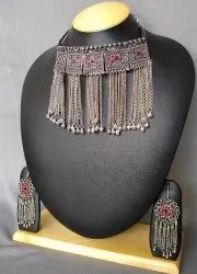 Afghani Necklace-Party Wear Neck Set