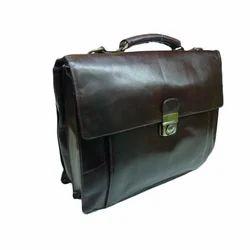 Plain Leather Briefcase