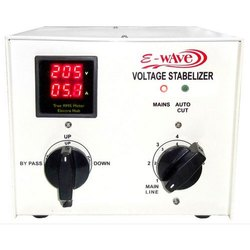 Ewave Single Phase Manual EAC 5000 Auto Cut Voltage Stabilizer, Current Capacity: Upto 30 Amps., 140 Volts To 290 Volts