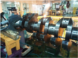 Crankshaft Marine Engine