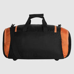 9a664e9868a Pu Black And Orange Duffel Bag