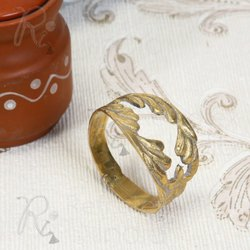 Golden Stylish Napkin Ring