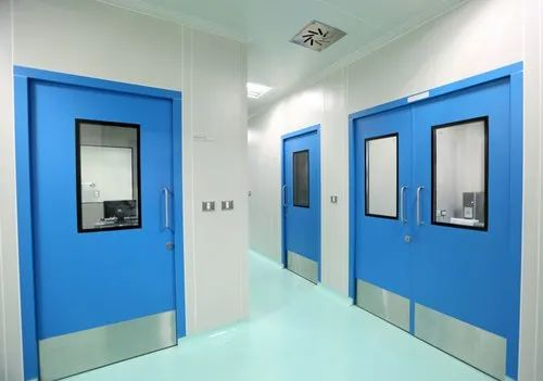 VENT Mild Steel Clean Room Doors