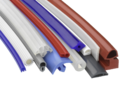 Silicone Extruded Rubber Profiles