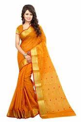 Formal Wear Cotton Designer Saree