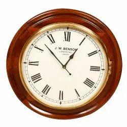 Brown Quartz Wall clock