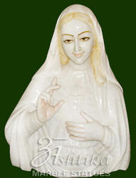 Mother Mary Marble Statue