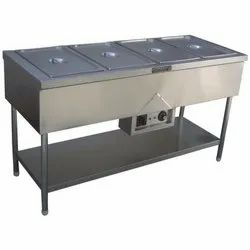 Stainless Steel 4 Bain Marie
