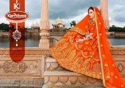 Designer Wedding Lehenga - Earth