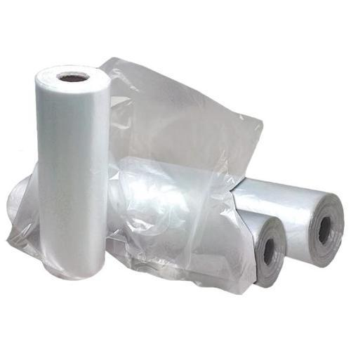 Transpa Clear Plastic Bag Roll Size Medium And Large