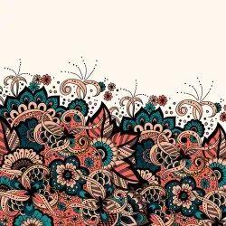 Ethnic Digital Printed Custom Prints Fabric