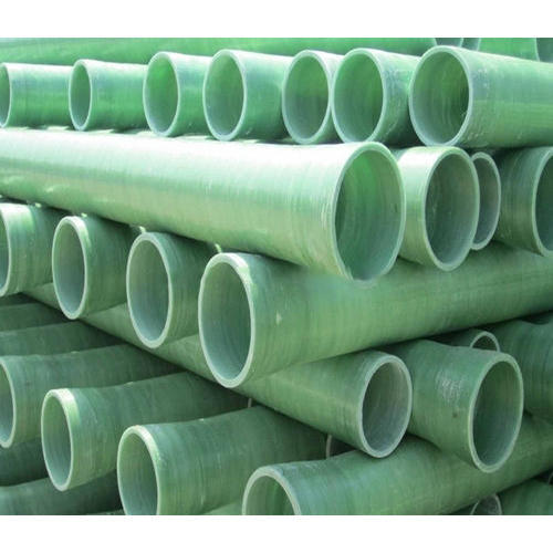 Frp Round Fiberglass Reinforced Plastic Pipe, for Irrigation, Rs ...