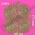 Sun Flower Pattern Patch