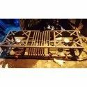 Commercial Double Gas Burner Stove