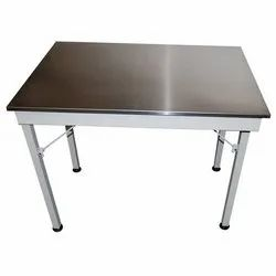 Stainless Steel Study Folding Table