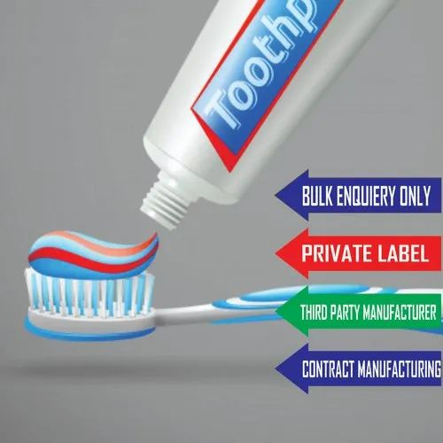 Third Party Manufacturing for Kids Toothpaste