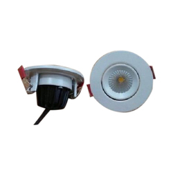 Cool Daylight Ceramic Round LED Downlight, IP Rating: IP66