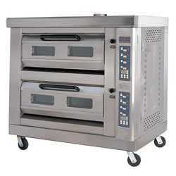 2 Deck Oven with Steam Toastmaster
