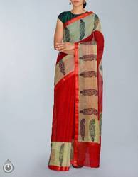 All Colors Half And Half & Temple Pure Handloom Cotton Hand Block Prints