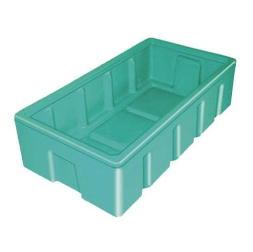 Plastic Rectangular Roto Moulded Crate