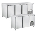 Western/hoshizaki Front Open Undercounter Stainless Steel Chiller Or Freezer, Capacity: 500 Ltr., -2 To 12 Deg C