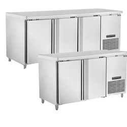 Undercounter Stainless Steel Chiller or Freezer