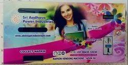 Adhava Electrical Pad Vending Machine