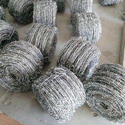 Silver Galvanized Barbed Wire