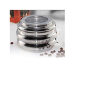 Stainless Steel Bubble Top See Through Canister