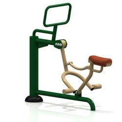 Outdoor Horse Rider Exercise Station
