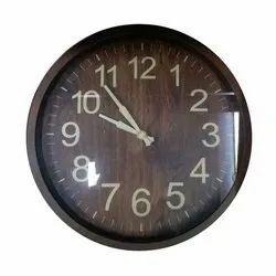 Round Analog Wall Clock, Packaging Type: Box