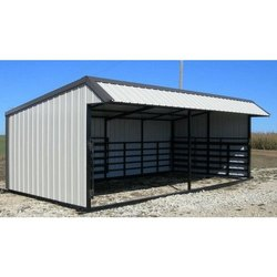 Steel Shed Shelter