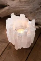 Salanite candle holders