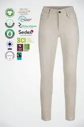 Natural Recycle Organic Cotton Ladies Pants/Trouser