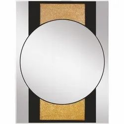 Diamond Designer Wall Glass Mirror