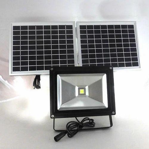 Ceramic Solar Flood Led Light Weight 5 1 Kg Rs 9500 Unit Id