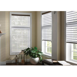100% Polyester Horizontal Triple Shade Blinds
