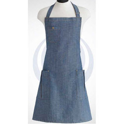 for Kitchen Plain Cotton Apron