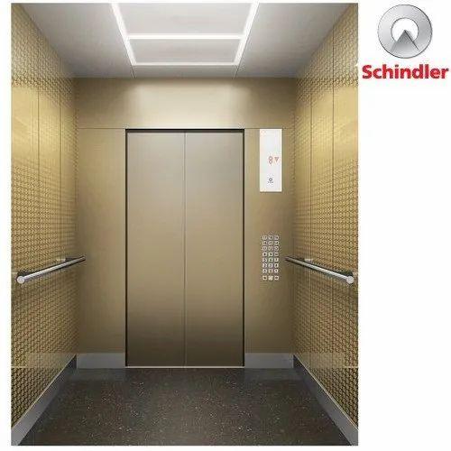 Schindler 7000 Global High Rise Elevator, Capacity: Upto