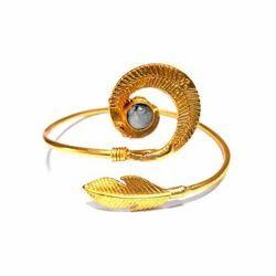 Handmade Gold Plated Bangle