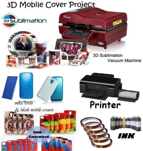 3d Sublimation Machine For Multi Product Printings