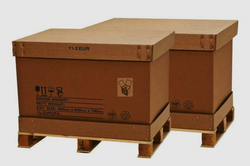 Paper Triple Wall - 7 Ply Heavy Duty Corrugated Box, For Packaging, Size(LXWXH)(Inches): 2 X 4 X 2 Feet