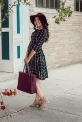 Western Wear Stylish Middy Short Dresses