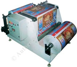 Automatic Centre Loading Label Rewinder Machine