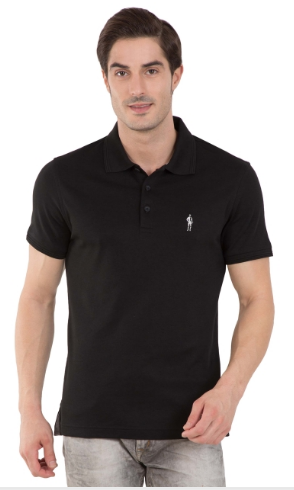 5efb7e1d Jockey Black Polo T-Shirt at Rs 799 | Mens Polo T Shirt | ID ...