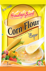 Himalaya White Corn Flour, Packaging Type: Pouch Pack