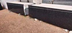 Big Slab Rajasthan R Black Granite, Thickness: 15-20 mm