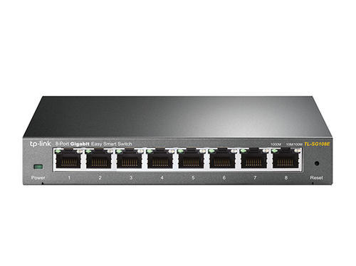 Unmanaged Switches 8 Port Gigabit Desktop Easy Smart Switch